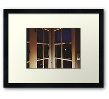 10:32, waiting for a call Framed Print