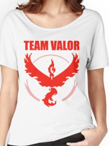 Pokemon Go - Team Valor Women's Relaxed Fit T-Shirt