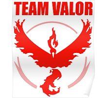 Pokemon Go - Team Valor Poster