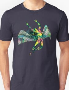 ICARUS THROWS THE HORNS - ACID TRIP Unisex T-Shirt