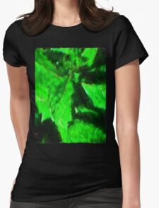 Mint Womens Fitted T-Shirt