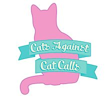 Cats Against Cat Calls Pastel Photographic Print