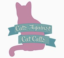 Cats Against Cat Calls Pastel Baby Tee