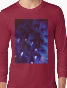 Swirls in Dark - analog 35mm color film photo Long Sleeve T-Shirt