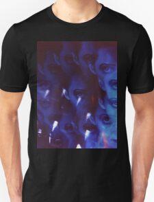 Swirls in Dark - analog 35mm color film photo Unisex T-Shirt