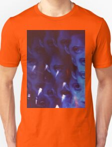 Swirls in Dark - analog 35mm color film photo Unisex T-Shirt