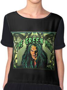THE GREEN MAN Chiffon Top