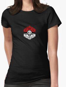 Pokeball D20 Womens Fitted T-Shirt