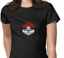 Pokeball D20 Womens Fitted T-Shirt