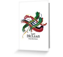 Clan McLean  Greeting Card
