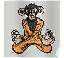 Zen Monkey 3 Poster