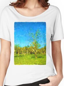 Trees in the Wind Women's Relaxed Fit T-Shirt
