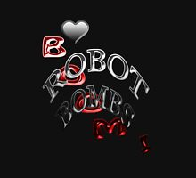 Love Robot Bombs ! Women's Fitted Scoop T-Shirt