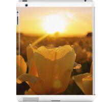 Golden Tulips iPad Case/Skin