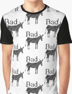BAD ASS donkey funny design Graphic T-Shirt