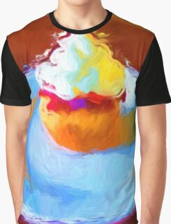 Cupcake Graphic T-Shirt