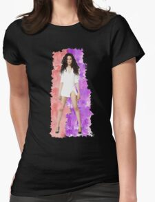 Camila Cabello Splash! Womens Fitted T-Shirt