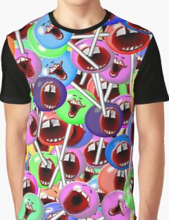 laughing lollipops Graphic T-Shirt