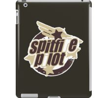 Spitfire Pilot iPad Case/Skin