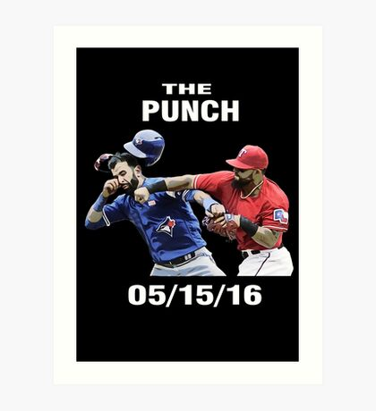 the punch texas Art Print