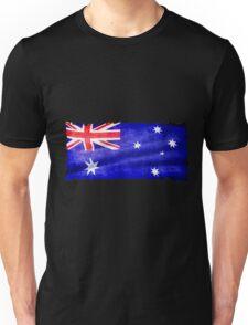 Australian, Aussie Flag, Downunder Patriotic Flag Unisex T-Shirt