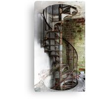 1.7.2016: Spiral Staircase Canvas Print