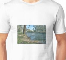 A fast flowing river Unisex T-Shirt