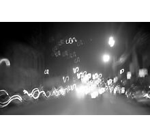 Night Rush Photographic Print