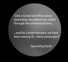 Spaceship Earth Monologue by mbswiatek