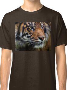 Sumatran Tiger Wildlife Big Cat-Lover Classic T-Shirt
