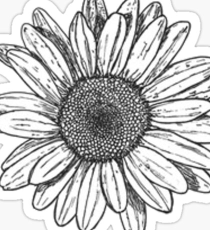 daisy Sticker