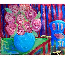 The Blue Vase 2 Photographic Print