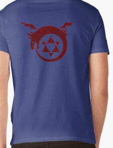 FullMetal Alchemist Ouroboros symbol Mens V-Neck T-Shirt