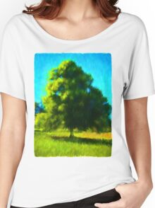 Sunlit Tree Women's Relaxed Fit T-Shirt