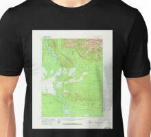 USGS TOPO Map Alaska AK Wiseman A-4 360446 1970 63360 Unisex T-Shirt