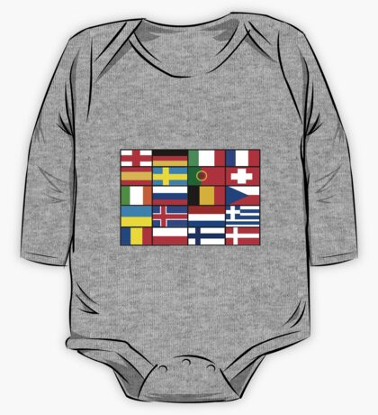 european flags One Piece - Long Sleeve