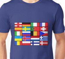 european flags Unisex T-Shirt