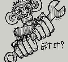 Monkey Wrench by Brett Gilbert