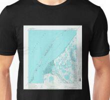 USGS TOPO Map Alaska AK Wainwright A-6 and A-7 360418 1955 63360 Unisex T-Shirt