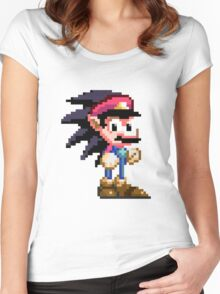Video Game Fusion SMxSTHH Women's Fitted Scoop T-Shirt