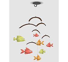 MOBILE FISHES CRADLE Photographic Print