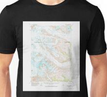 USGS TOPO Map Alaska AK Tyonek B-6 360027 1958 63360 Unisex T-Shirt