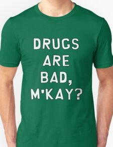 "South Park ""Drugs Are Bad, M'kay?"" T-Shirt"