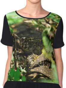 """""""In the Undergrowth"""" Chiffon Top"""