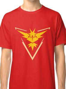 Pokemon Go - Team Instinct (no text) Classic T-Shirt