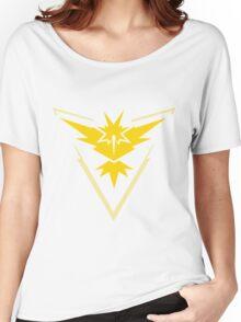 Pokemon Go - Team Instinct (no text) Women's Relaxed Fit T-Shirt