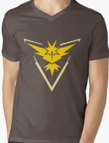 Pokemon Go - Team Instinct (no text) Mens V-Neck T-Shirt
