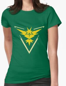 Pokemon Go - Team Instinct (no text) Womens Fitted T-Shirt