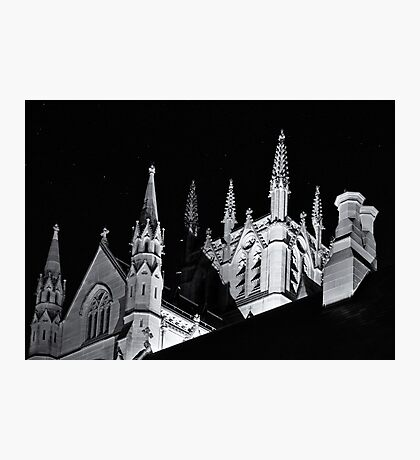 Steeples and Chimneys Photographic Print