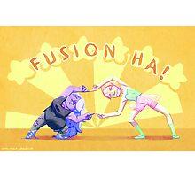 Fusion Ha! Photographic Print